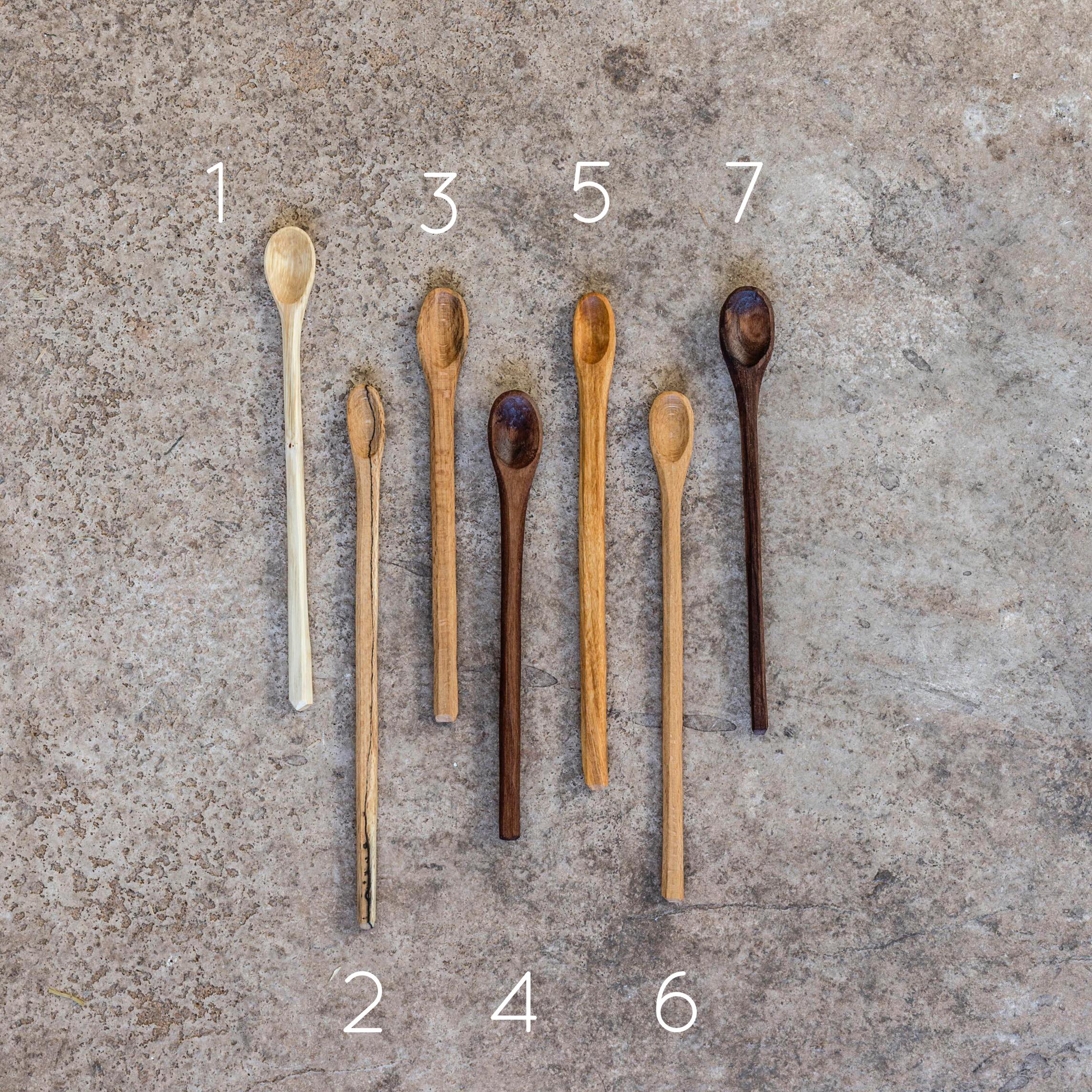 Jar Spoons Numbered