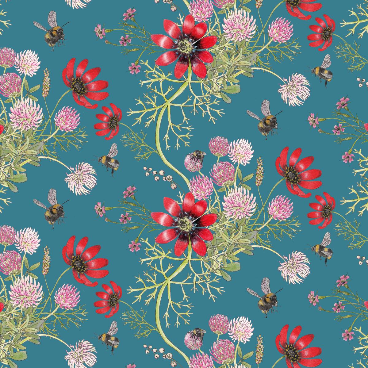 Newton-Paisley-Fabric