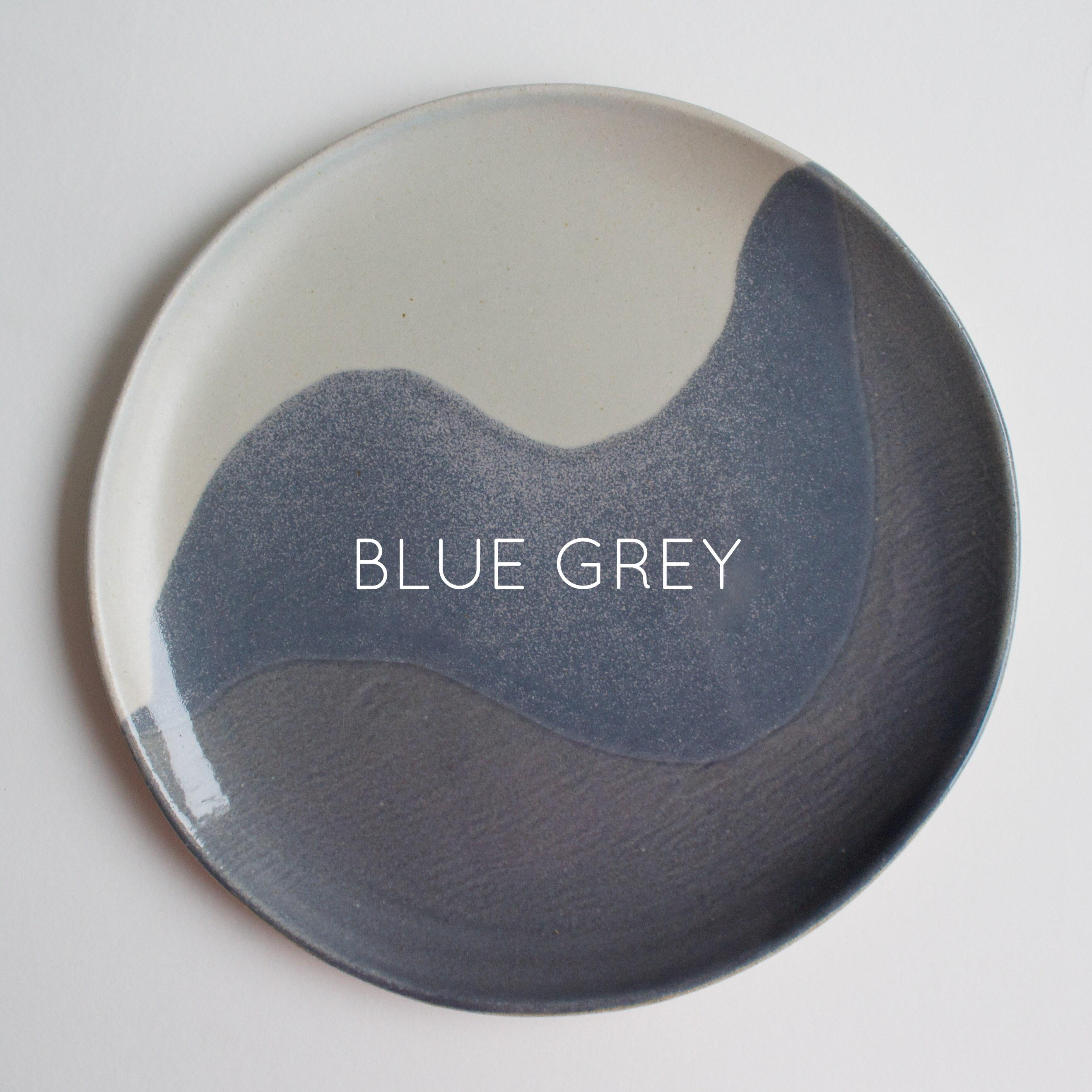 Glacier Dinner Plate | Blue Grey | Named