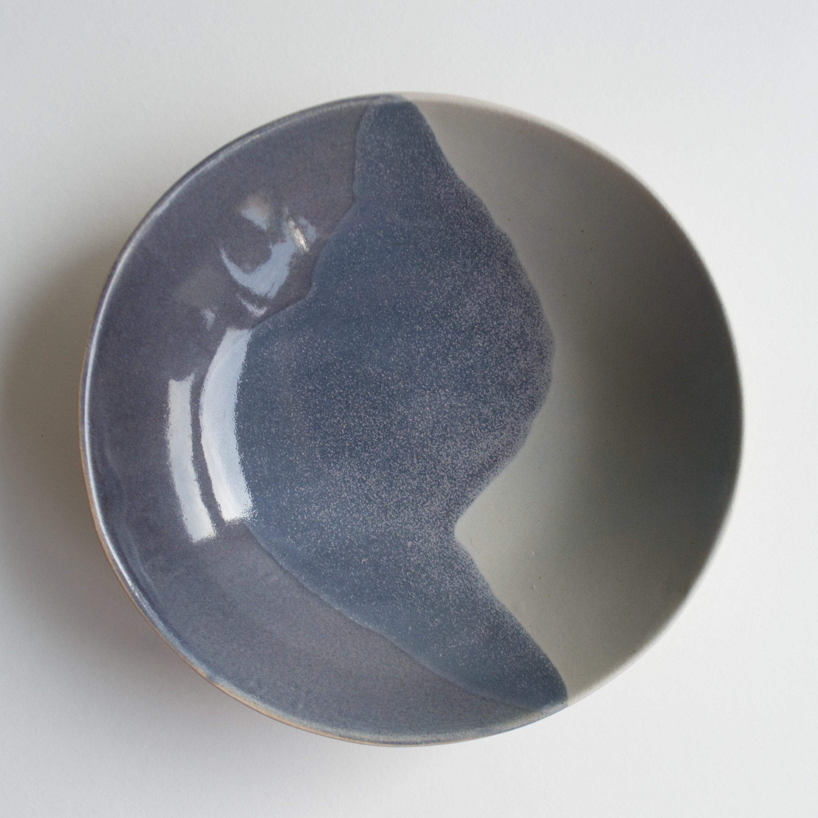 Glacier small bowl in grey blue copy