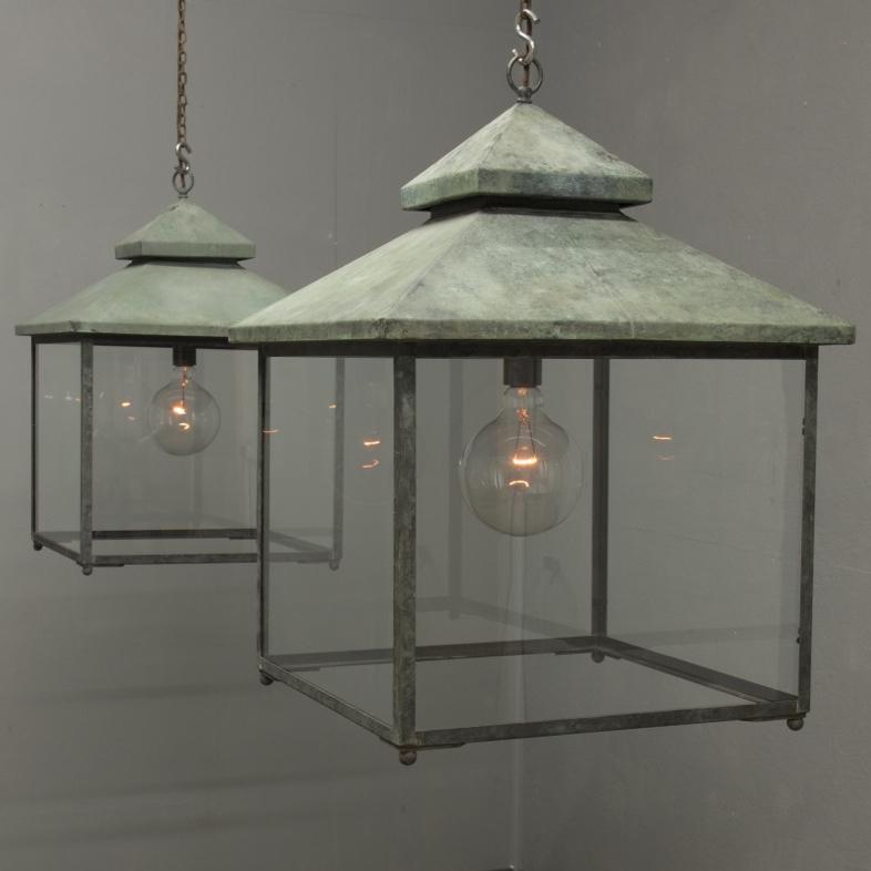 Galley lantern | Verdigris