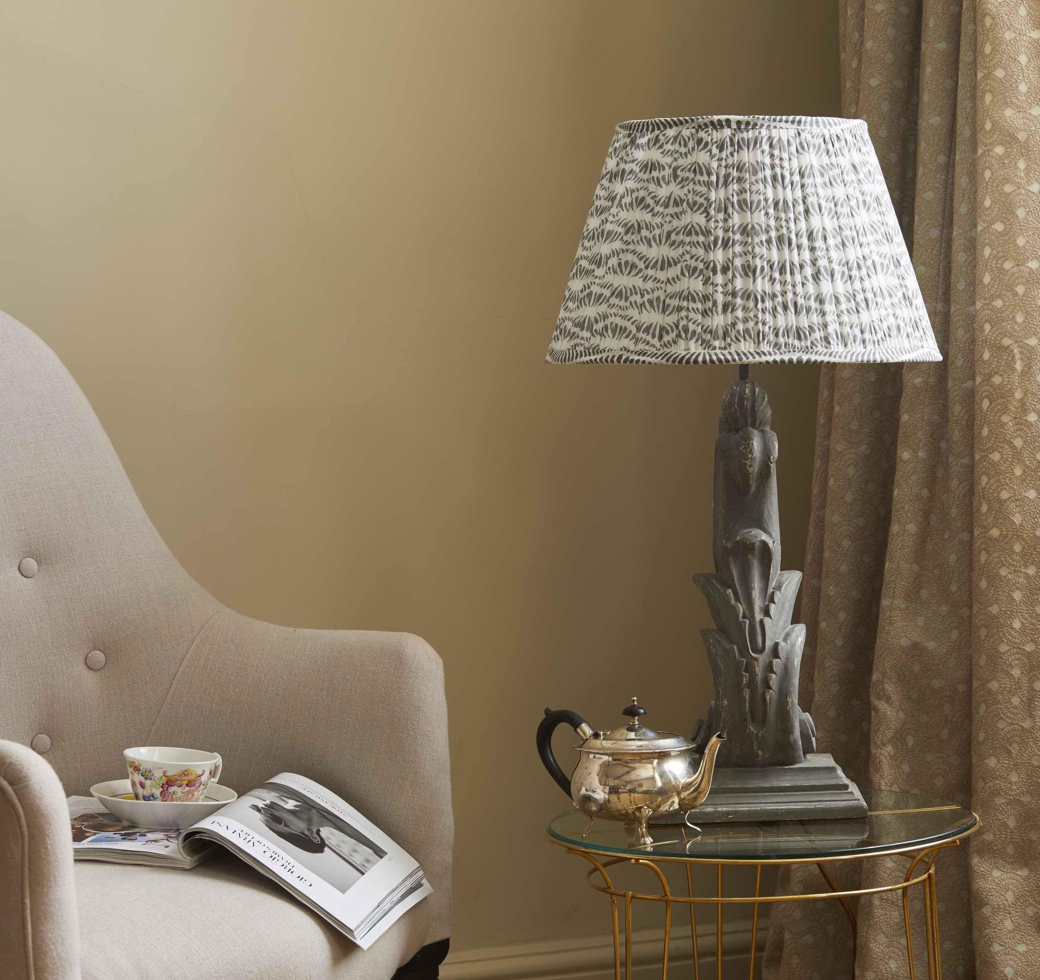 lamp shades, rugs, throws, cushions, interiors
