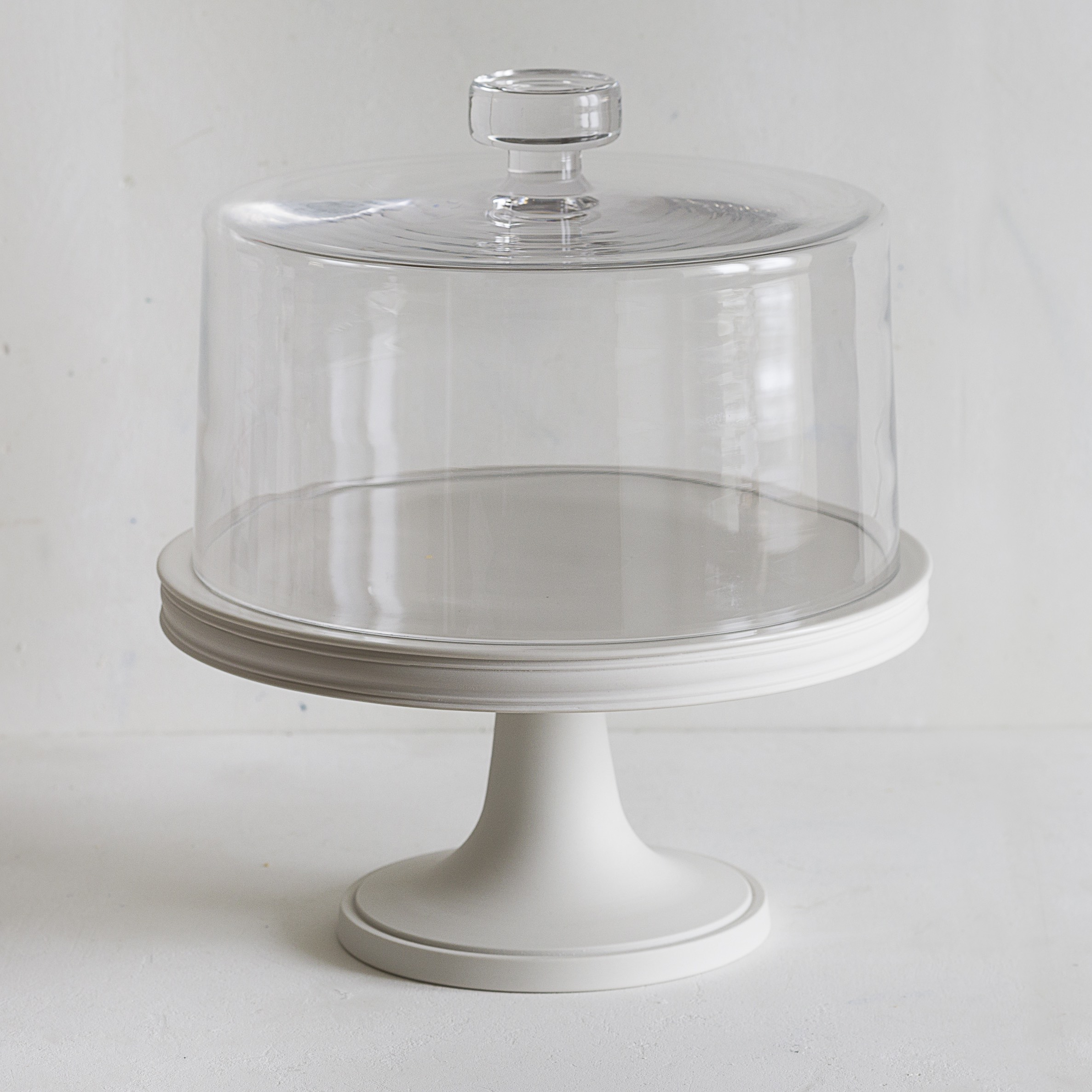 28cm Cake Stand & Glass Dome | Low Res