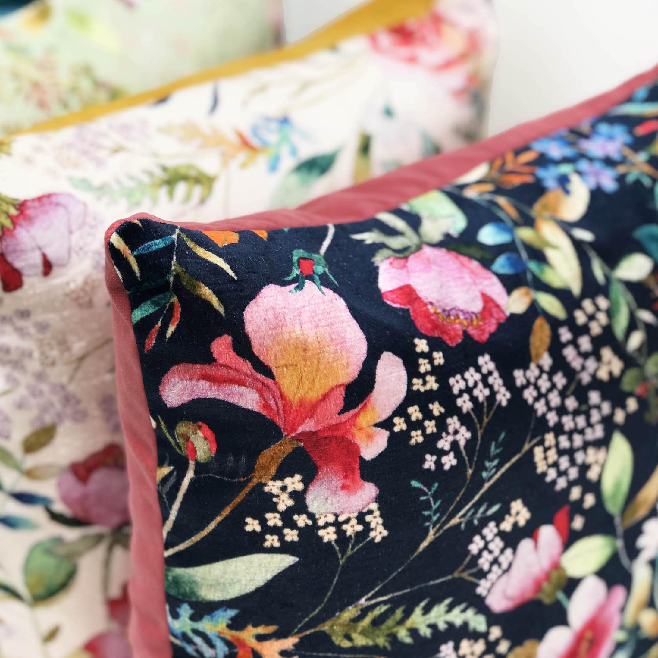 Cushion Pile | Navy